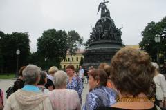 Памятник Тысячилетие России