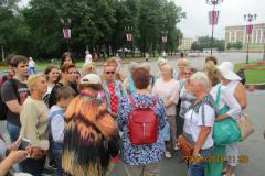Сенная площадь Новгорода