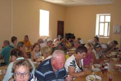 обед в трапезной мужского монастыря