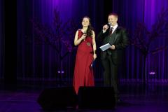 Ведущие концерта А.Аракелов и Е.Андреева
